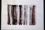 día 22 - 2010 - acrílico sobre papel - 30 x 42 cm.