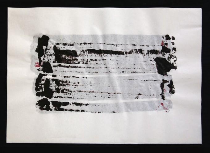 día 26 - 2010 - acrílico sobre papel - 30 x 42 cm.