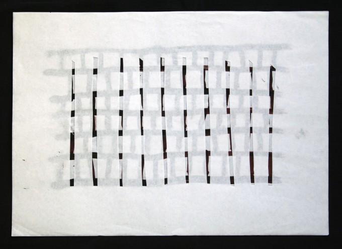 día 28 - 2010 - acrílico sobre papel - 30 x 42 cm.