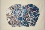 Gota 31 - 2016 - Collage acrílico sobre tela - 50 x 70 cm
