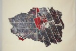 Gota 32 - 2016 - Collage acrílico sobre tela - 50 x 70 cm