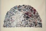 Gota 33 - 2016 - Collage acrílico sobre tela - 50 x 70 cm