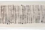 Espatulomancia IV - 2010 - acrílico sobre tela - 20 x 60 cm