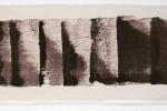 Espatulomancia VI - 2010 - acrílico sobre tela - 20 x 60 cm