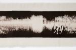 Espatulomancia VIII - 2010 - acrílico sobre tela - 20 x 60 cm