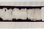 Espatulomancia XIX - 2010 - acrílico sobre tela - 40 x 120 cm