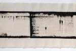Espatulomancia XVI - 2010 - acrílico sobre tela - 40 x 120 cm