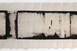 Espatulomancia XVII - 2010 - acrílico sobre tela - 40 x 120 cm