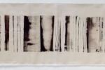 Espatulomancia XX - 2010 - acrílico sobre tela - 40 x 120 cm