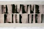 Espatulomancia XXII - 2010 - acrílico sobre tela - 40 x 120 cm