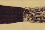 Espejo 4 - 2011 - acrílico sobre papel - 25 x 65 cm.