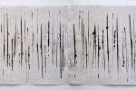 poema 8 - 2010 - acrílico sobre papel - dos piezas 45 x 130 cm