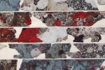 Gota 23 detalle - 2013 - acrílico sobre tela - 50 x 70 cm