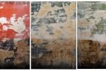 Melancholia - 2014 - Acrílico sobre bastidor de madera entelado - Tríptico - 200 x 60 cm
