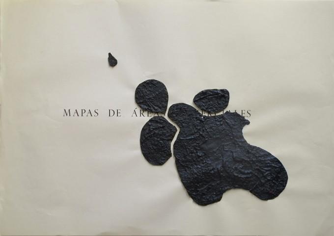 Cartografía - 2015 - acrílico sobre papel - 33 x 46,5 cm.