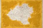 Cartografía Soria - 2016 - acrílico sobre papel - 33 x 46,5 cm.
