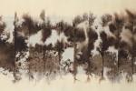 Short Cuts IV - 2015 - Tintas s/tela - 70 x 25 cm